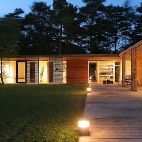 3. Dom parterowy w skandynawskim klimacie (3176 odwiedzin)