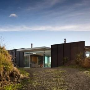 Modułowy dom na plaży - Parsonson Architects