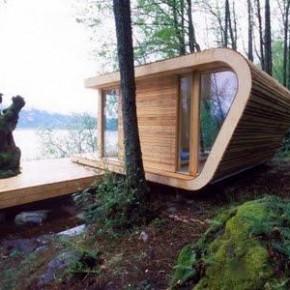 Mały eko domek letni - architekci  Tommie Wilhelmsen i Todd Saunders