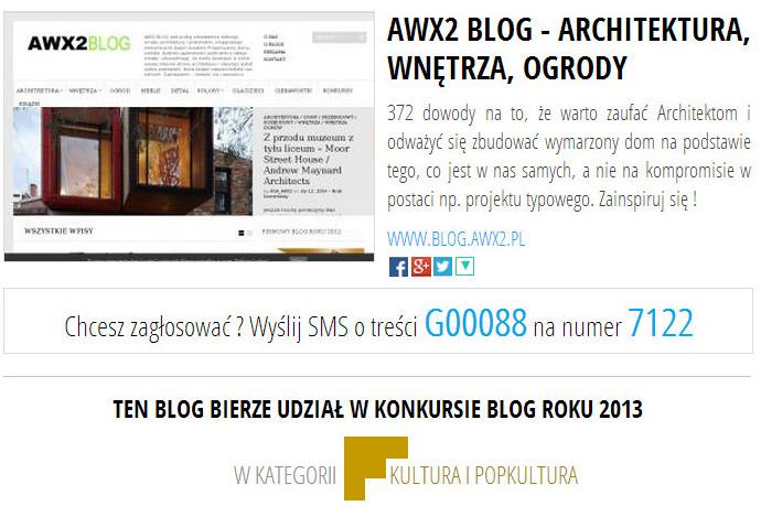 awx2 blog roku 2013