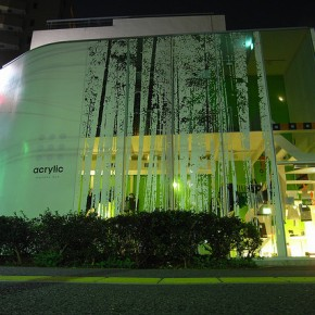 Bambusowy las w centrum Tokio