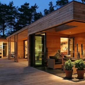 Dom parterowy w skandynawskim klimacie