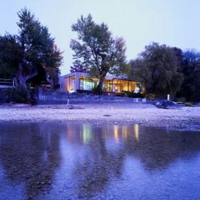 Dom nad brzegiem jeziora