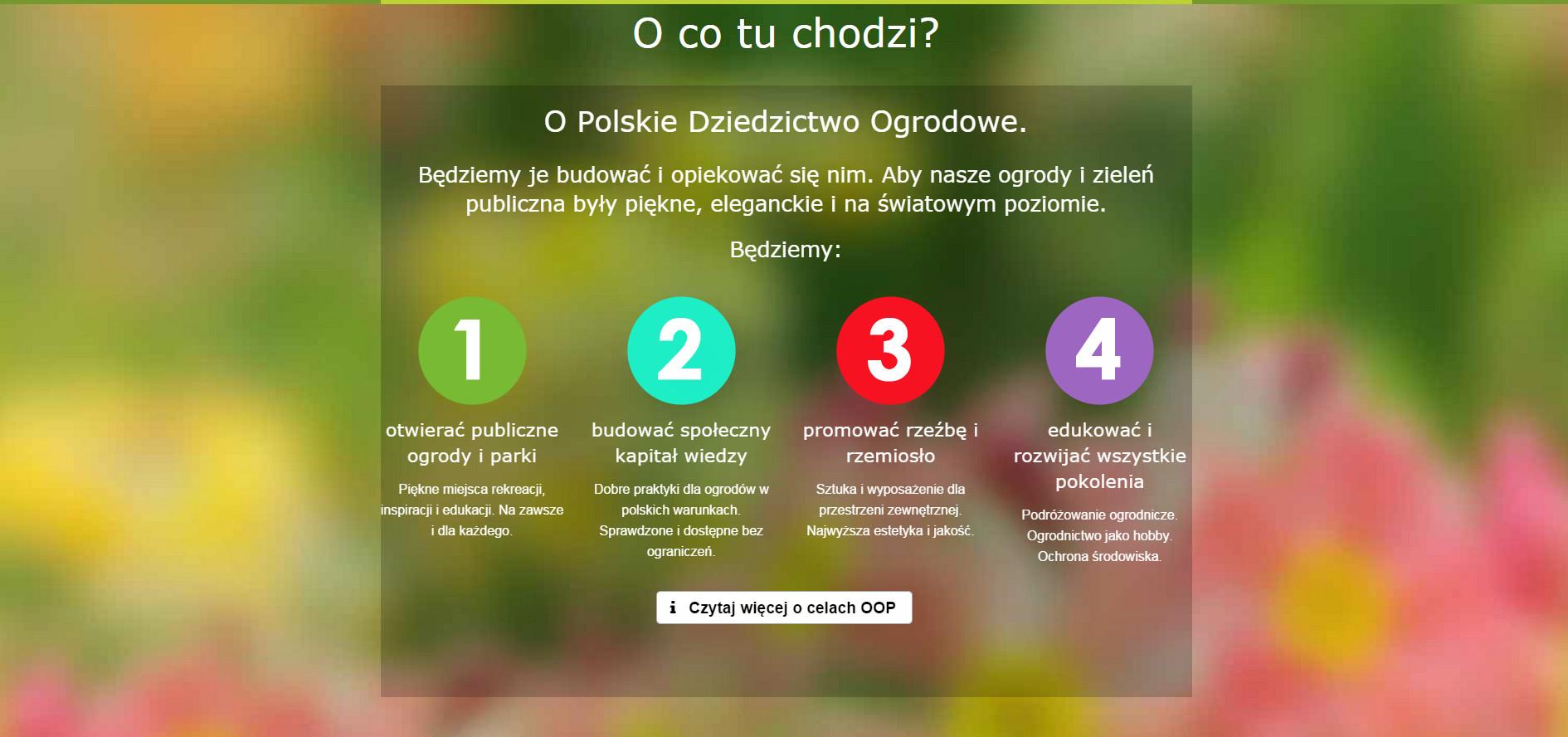 organizacja ogrodów polskich 2