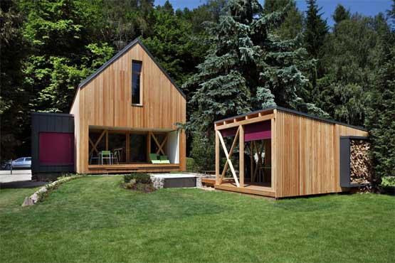 Nowoczesny dom weekendowy – Stribrna Skalice House / Prodesi | Domesi