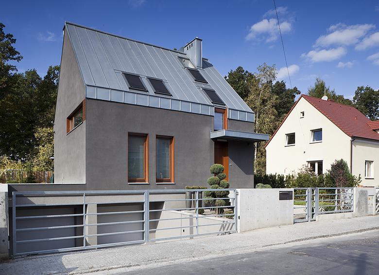 Mały dom z Wrocławia