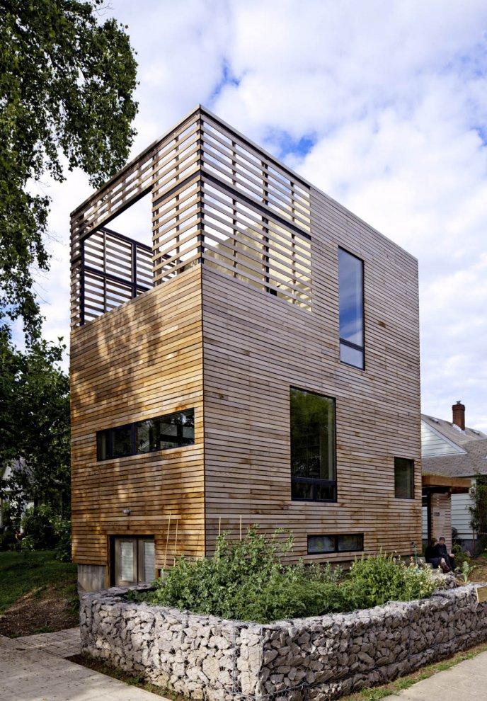 Harpoon House – ekologiczny i energooszczędny dom w Portland