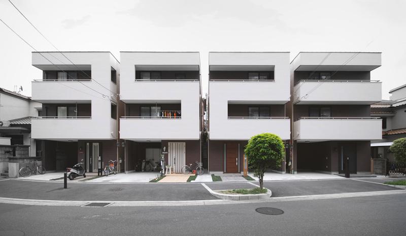 Number House – pomysłowa elewacja