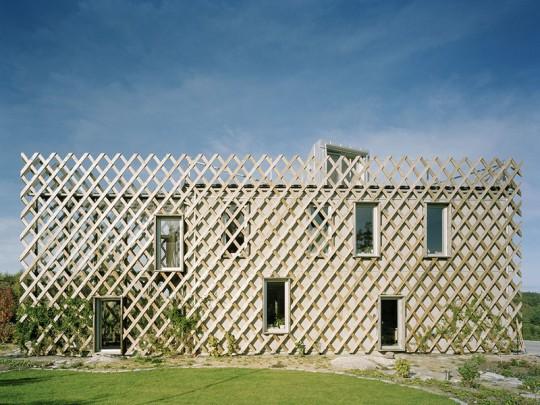Garden House – dom pergola