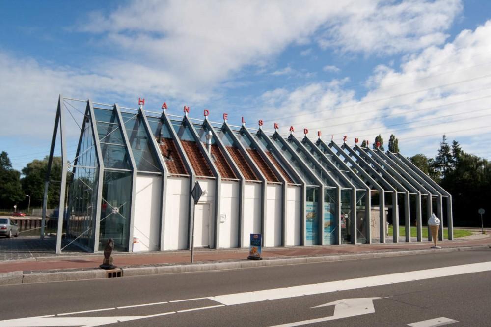 Pawilon portowy w Holandii