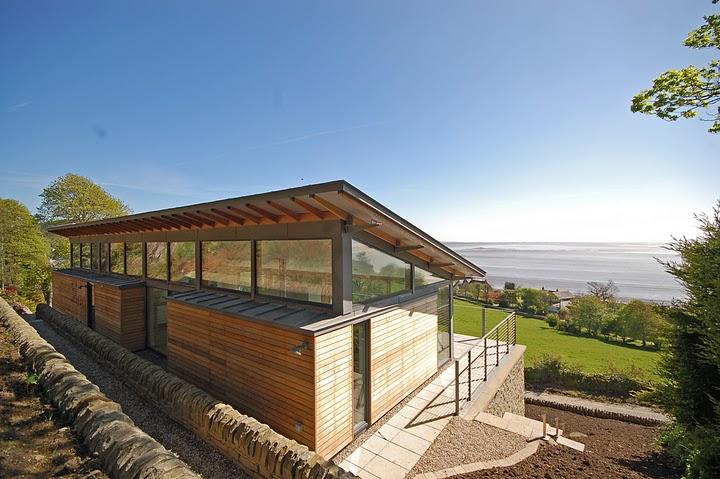 Nowoczesny dom jednorodzinny w Szkocji