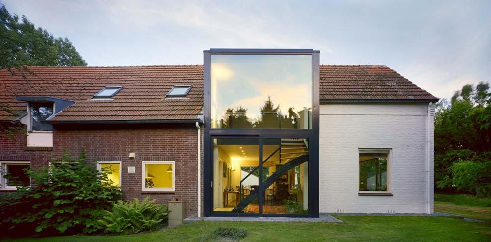 Przebudowa domu w Chaam/Holandia/