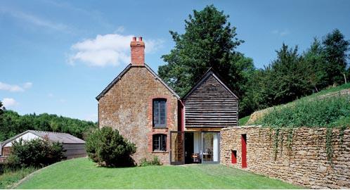 Romantyczny dom w starej mleczarni