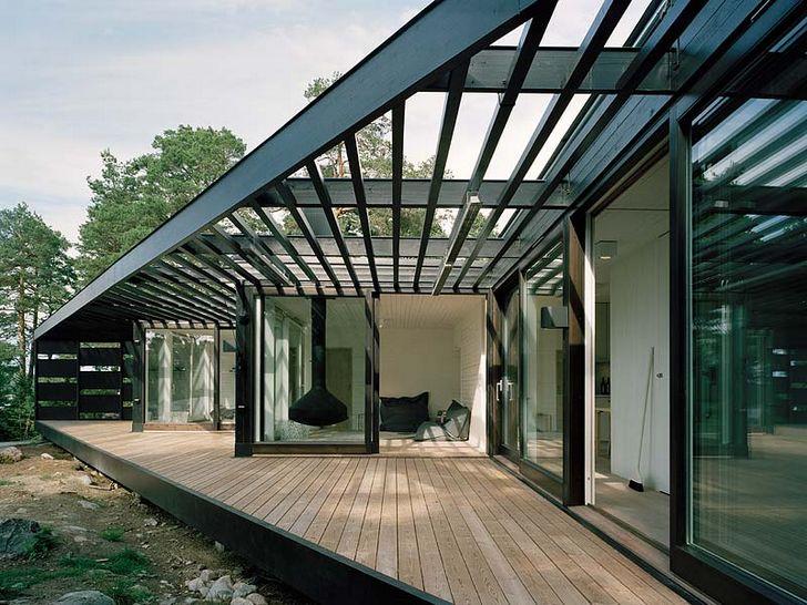 Archipelag House- Dom letniskowy w Sztokholmie