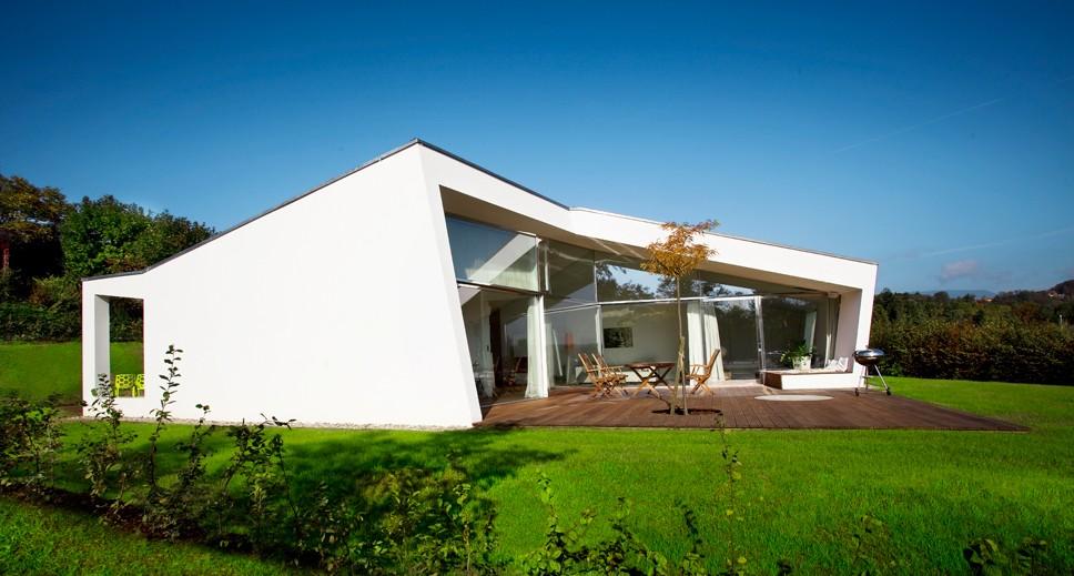 Villa 3S – mały dom parterowy w Austrii