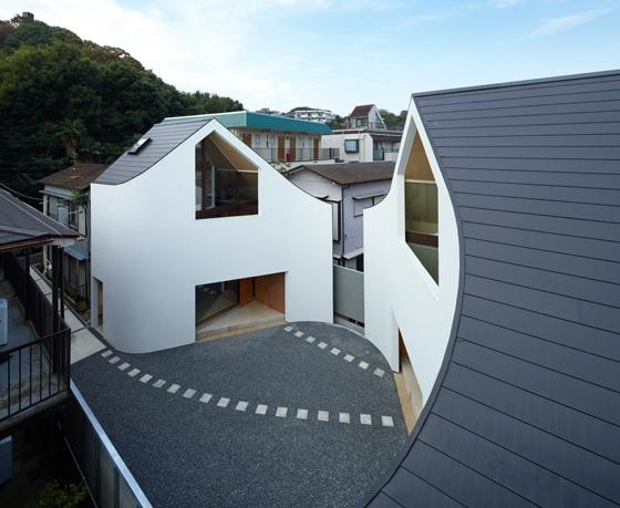 Dwa w jednym – nietypowy dom wielopokoleniowy