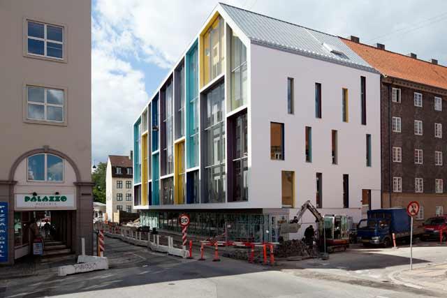 Rozbudowa szkoły w Kopenhadze