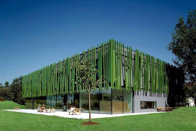 Zielone przedszkole w Sighartstein / Austria