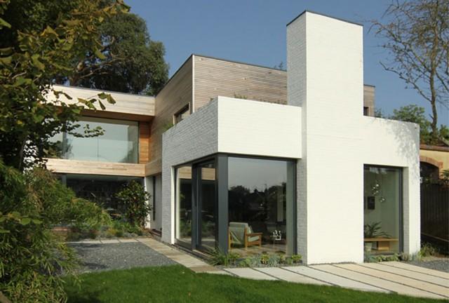 Corkellis House / Anglia – nowoczesny dom w stylu retro (Video)