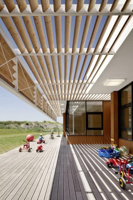 Architektura dla dzieci – przyjazne przedszkole w Austrii