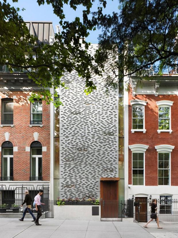 Renowacja kamienicy Townhouse w Nowym Jorku