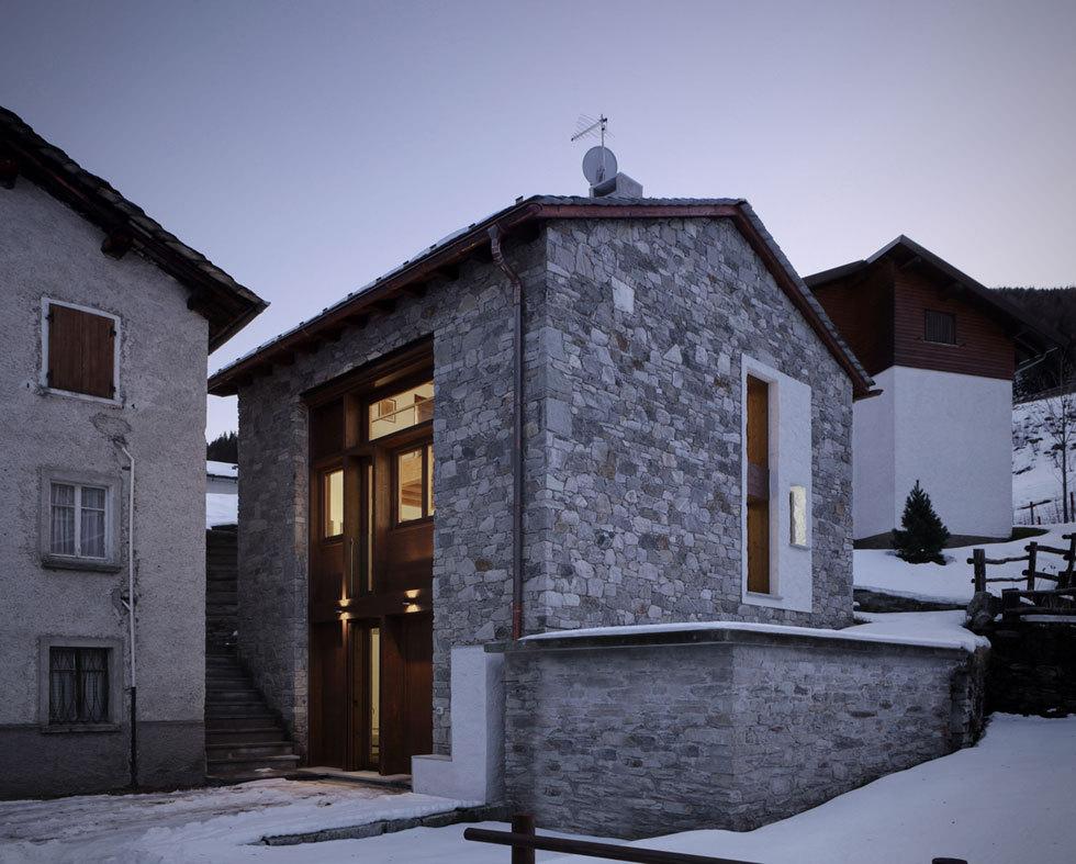 Casa UP – renowacja domu w górach
