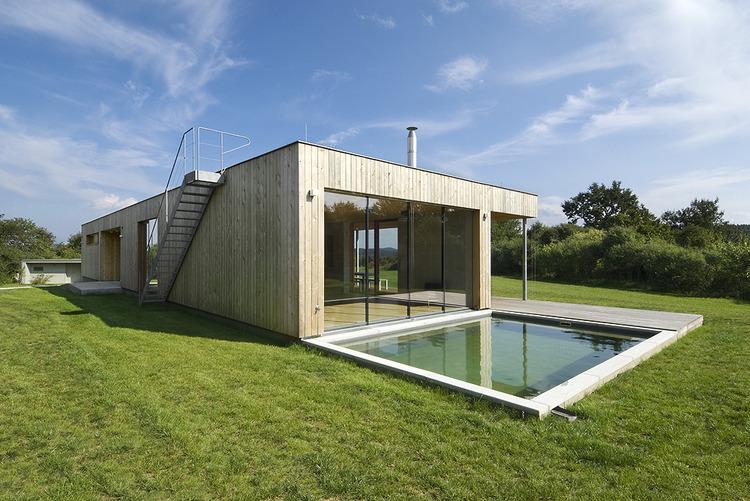 Dom w zgodzie z natur awx2 blog for Maison rectangulaire moderne