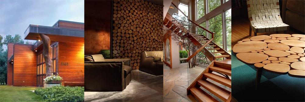 Galeria: Drzewo w architekturze – 33 inspiracje