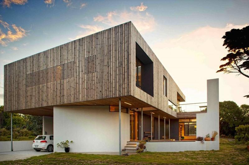 Lagoon Beach House – australijski dom w Tasmanii