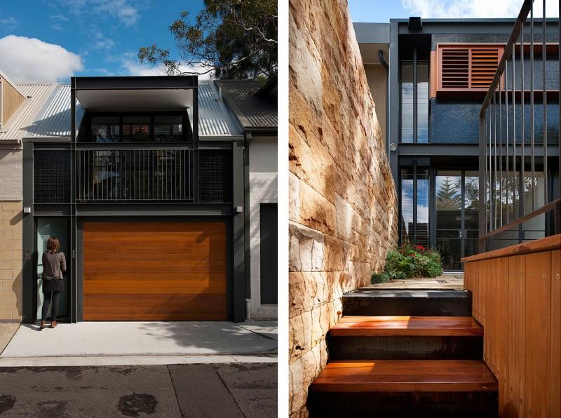 Rozelle Terrace House – przebudowa domu w Sydney