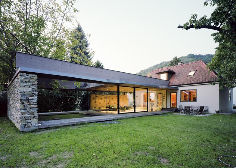 Villa Sk Atelier Thomas Pucher Nowoczesna Rozbudowa Klasycznego Domu Awx2 Blog