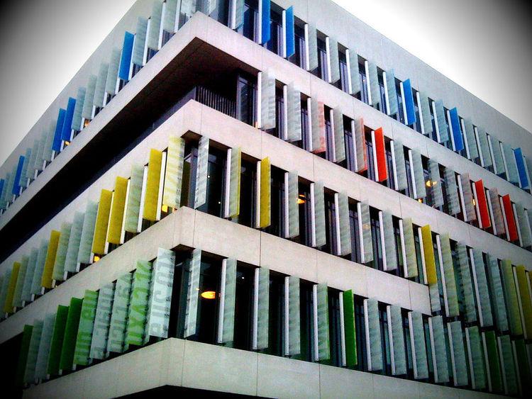 College Ørestad -Gimnazjum w Kopenhadze od 3XN