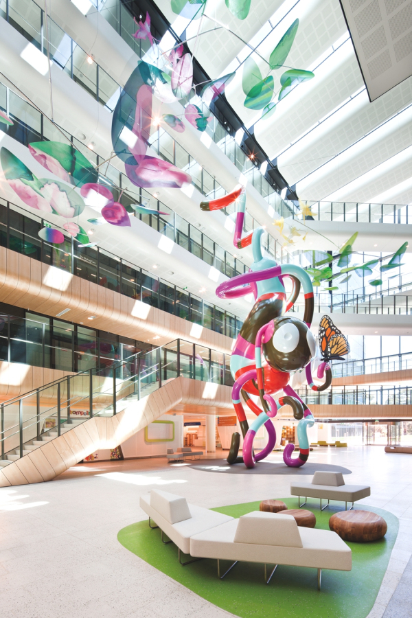 Royal children 39 s hospital melbourne koloroterapia dla for Interior design melbourne