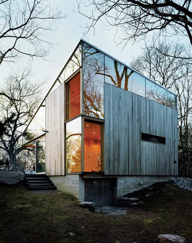 Naturalna nowoczesność – rozbudowa domu od Gray Organschi Architecture