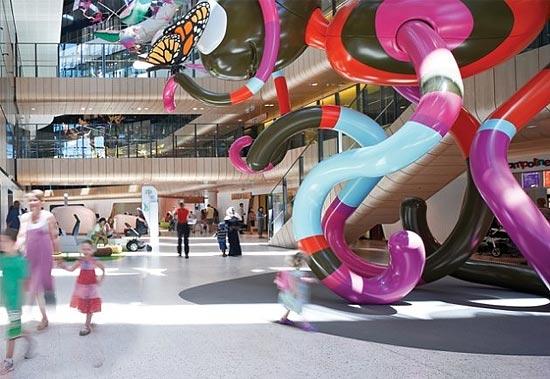 Royal Children's Hospital Melbourne – koloroterapia dla dzieci