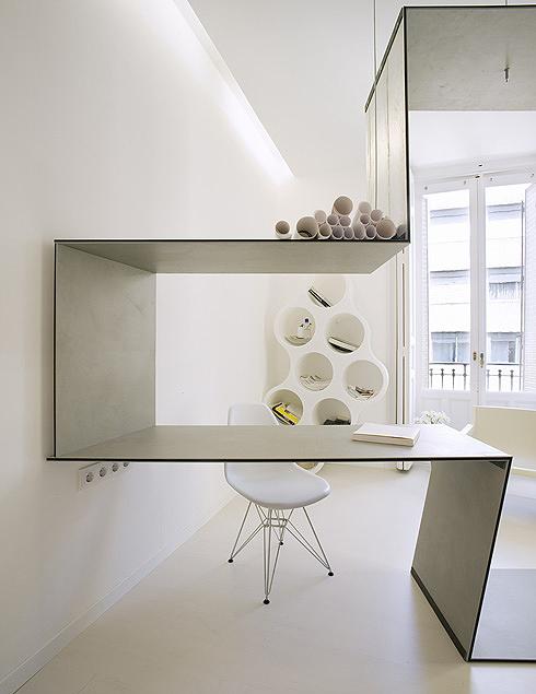 Maksymalny minimalizm biurka