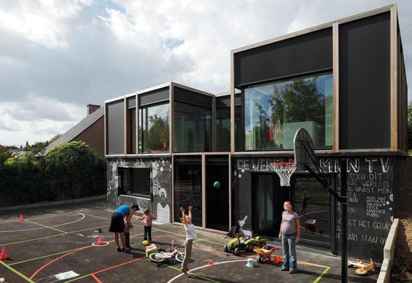 Private house / BLAF Architecten – architektura mocno kreatywna