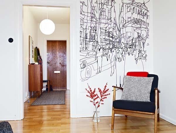 Rysunki na ścianach
