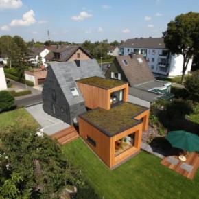 Metamorfoza małego domu w Niemczech