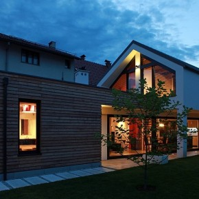Dom w Słowenii / Eko Koncept