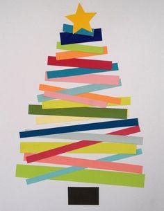 Choinka 2D – świąteczna alternatywa