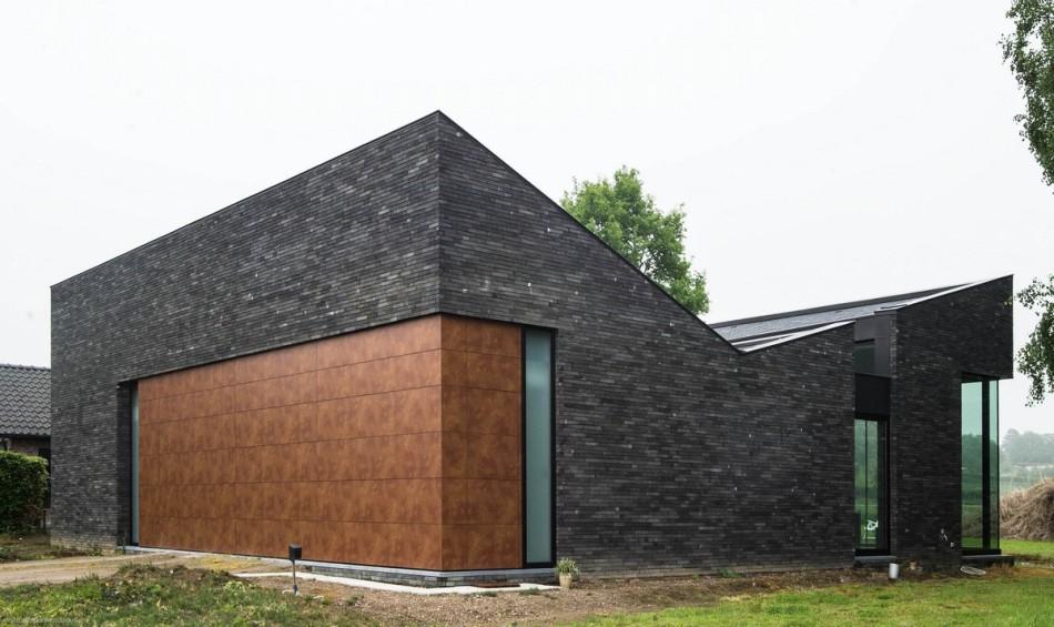 OGRANICZENIE MOŻE BYĆ ATUTEM : Dom rodzinny w Oud-Heverlee / Blanco Architecten