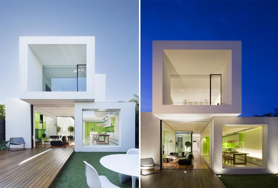 Z PRZODU MUZEUM Z TYŁU LICEUM: Shakin Stevens House / Matt Gibson Architecture + Design