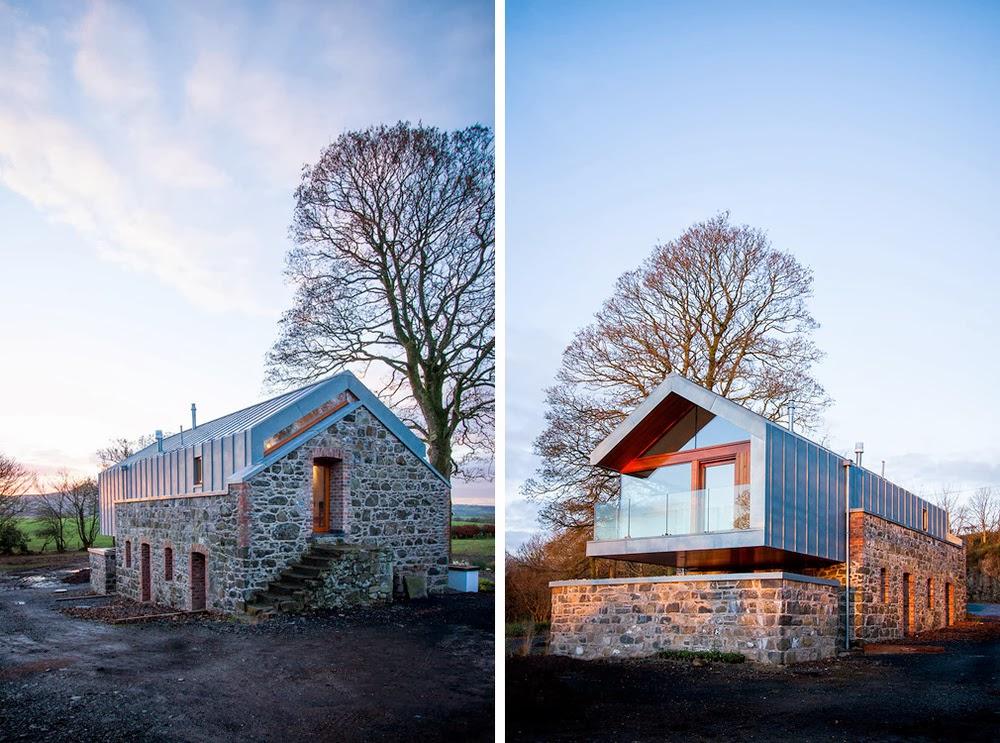 JAK PRZEROBIĆ STODOŁĘ NA DOM? Loughloughan Barn / McGarry-Moon Architects
