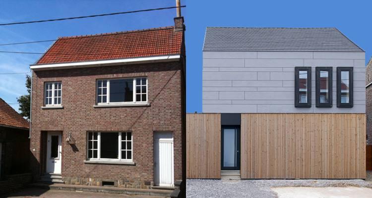 Przebudowa + rozbudowa = doskonały przepis na metamorfozę / Petera Van Impe