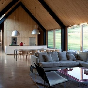 Dom w kamiennej stodole / Woodstock Farm Rick Joy Architects