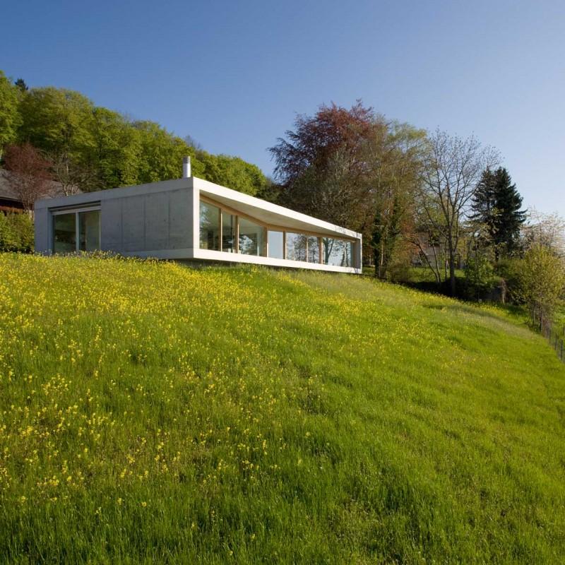 Dom na wzgórzu / Bauzeit Architekten