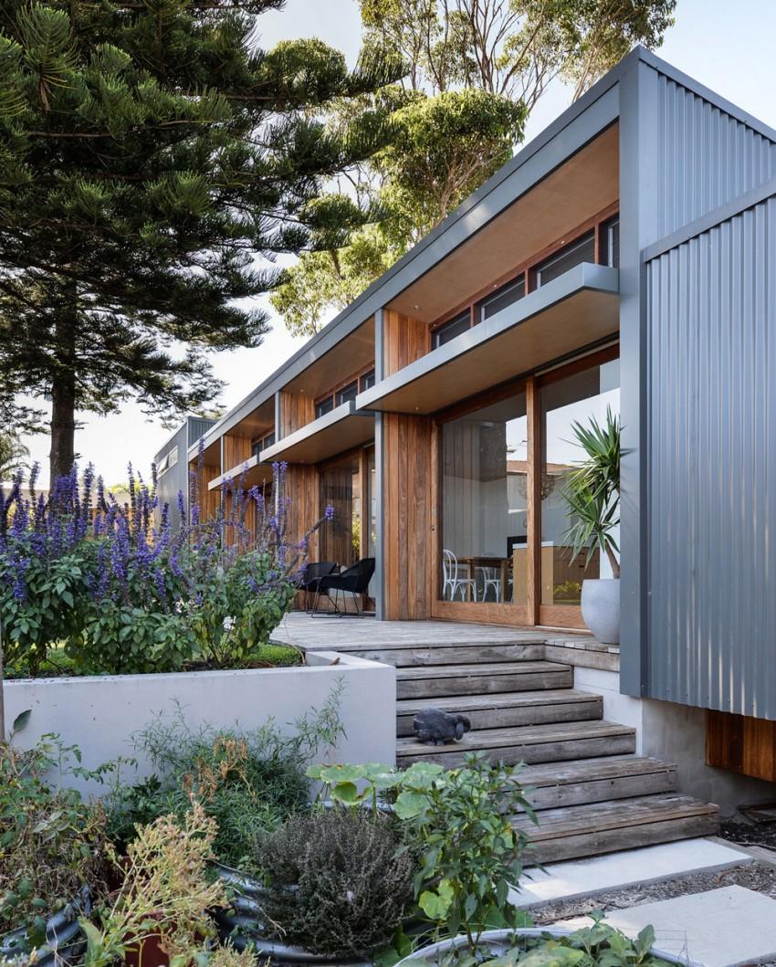 Rozbudowa domu na długiej działce / Bourne Blue Architecture
