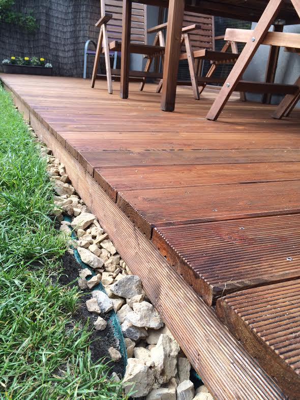Jak samemu zbudować drewniany taras – wiosenna metamorfoza naszego ogrodu :)