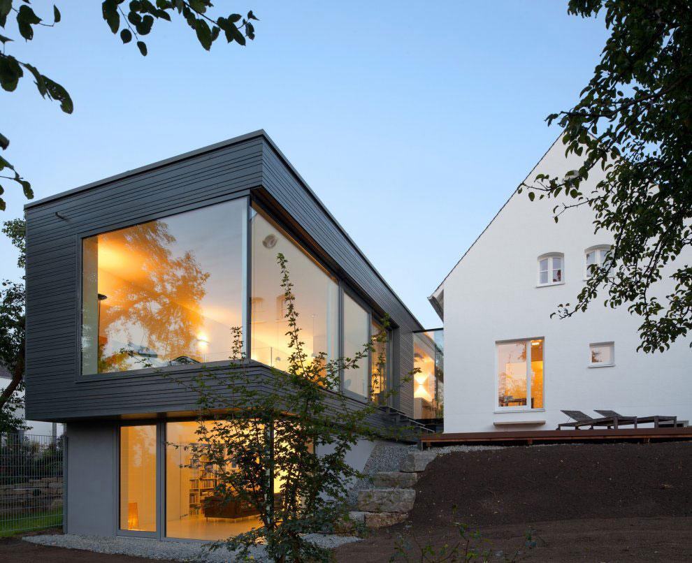 Jednen dom, dwa światy  / Fabi Architekten